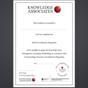 KAM ARU Certificate